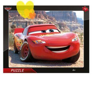 Puzzle CARS BLESK MCQQUEEN deskové 40ks