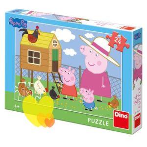 Puzzle PEPPA PIG SLEPIČKY 24ks