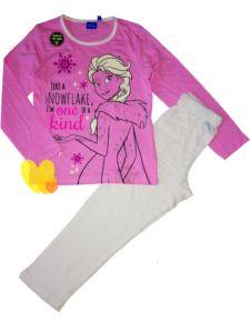 Pyžamo FROZEN svítící růžové