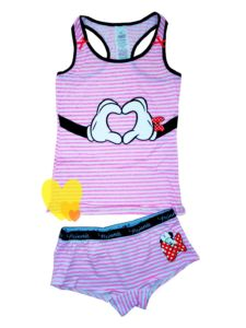 Spodní prádlo MINNIE růžové