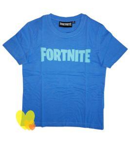 Tričko FORTNITE kr.rukáv chlapecké modré