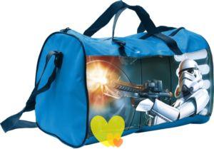 Taška STAR WARS cestovní – sportovní modrá 38x20x26