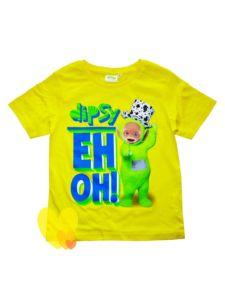 Tričko TELETUBBIES chlapecké kr.rukáv žluté