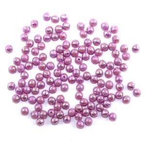 Akrylové broušené korálky – světle fialové – ∅ 6 mm – 10 ks