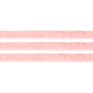 Elastická semišová stuha – pudrově růžová – 1 cm – 30 cm – 1 ks