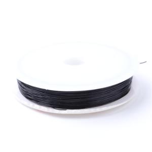 Elastomer – černý – ∅ 0,6 mm – 10 m – 1 ks