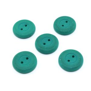 Knoflík Estrela NEON – smaragdový  – ∅ 16 mm- 1 ks