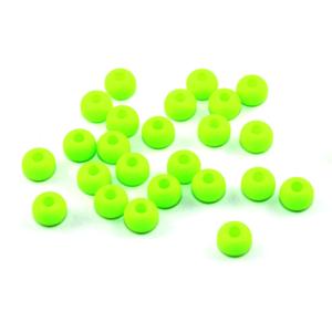 Korálky Estrela NEON – fluorescenčně zelené – ∅ 5,5 mm – 10 ks
