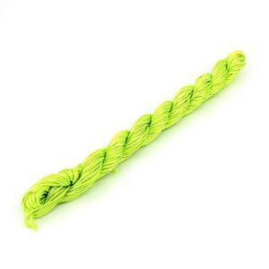 Nylonová šňůra – neonově zelená – ∅ 1 mm – 26 m – 1 ks