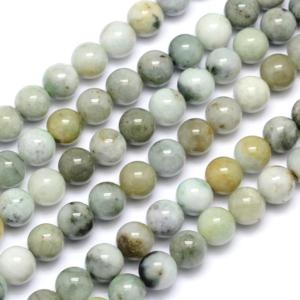 Přírodní jadeit – ∅ 10 mm – 1 ks