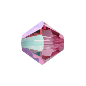 SWAROVSKI 5328 – XILION BEAD – Rose Shimmer – ∅ 4 mm – 1 ks