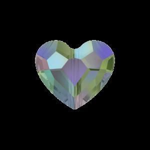 SWAROVSKI 5741 – LOVE BEAD – Crystal Paradise Shine – 12 x 12 x 5,5 mm – 1 ks