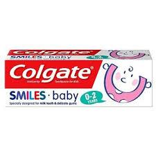 Colgate Smiles Baby 0-2 roky zubní pasta pro děti 50 ml