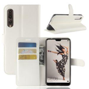 Flipové pouzdro pro Huawei P20 Pro   WALLET   White