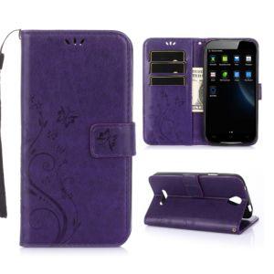 KG pouzdro Wallet Style Doogee X6 (5002) Purple
