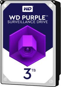 HDD 3TB WD30PURZ Purple 64MB SATAIII 5400rpm 3RZ
