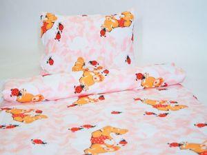 Bavlněný povlak na polštář  45×65 – Beruška růžová