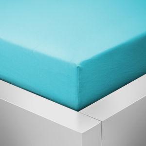 Froté prostěradlo 60×120 – Světle modré