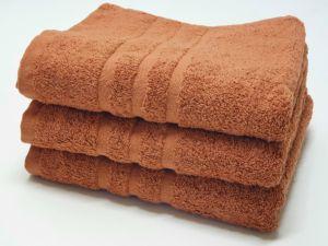 Froté ručník HOTEL 500g – Hnědý 50×100