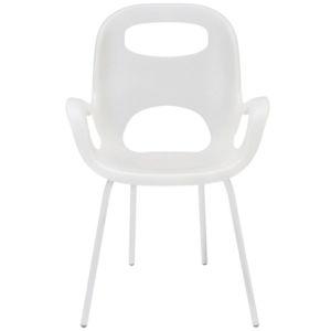 Designová plastová židle Umbra Oh   bílá