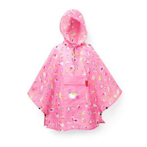 Dětská plaštěnka Poncho Reisenthel Mini Maxi Kids ABC Friends Pink