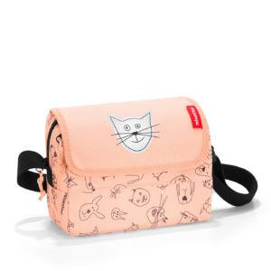 Dětská taška přes rameno Reisenthel Everydaybag Kids Cats and Dogs Rose