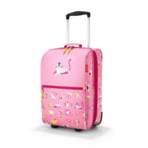 Dětský kufr Reisenthel Trolley XS Kids ABC Friends Pink