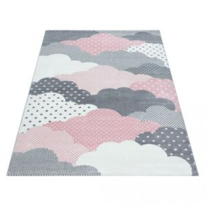 Dětský kusový koberec Bambi 820 Pink | Růžový