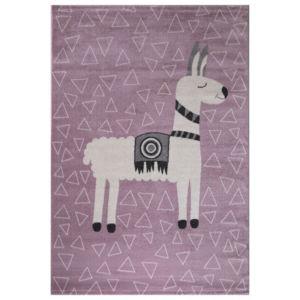 Dětský Kusový koberec Candy 153 Růžový