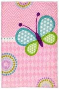 Dětský kusový koberec Lollipop LOL184   růžový