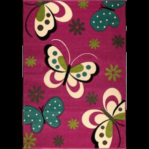 Dětský kusový koberec Marvelous Kids 772 | fialový