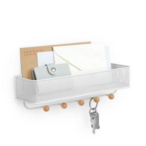 Držák na dopisy a klíče Umbra Estique | bílý