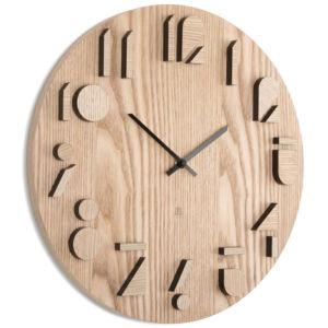Dřevěné nástěnné hodiny Umbra Shadow