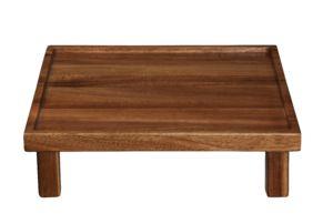 Dřevěný podnos ASA Selection 25×25 na nohou