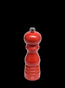Dřevěný manuální mlýnek na sůl Peugeot Paris | červený