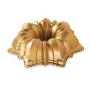 Hliníková forma na bábovku Nordic Ware Solera | zlatá