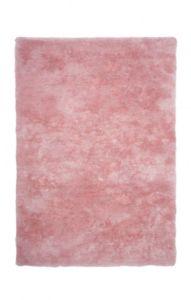Chlupatý kusový koberec Curacao 490 | růžový