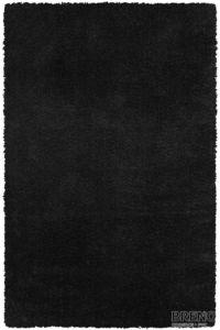 Chlupatý kusový koberec Gala 01MMM   černý