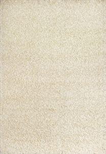 Chlupatý kusový koberec Expo Shaggy krémový 5699-366