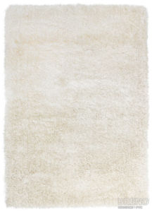 Chlupatý kusový koberec Monte Carlo | bílý