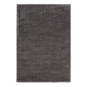 Chlupatý Kusový koberec Rivoli 160040 Šedý
