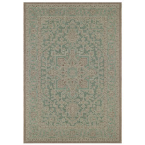 Klasický Kusový koberec Jaffa 103877 Světlý/Zelený