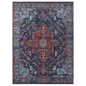 Klasický Kusový koberec Lugar 104090 Denim Modrý