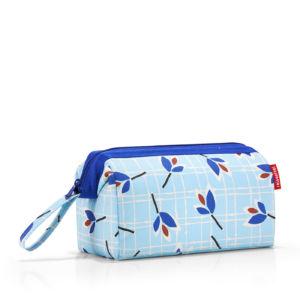 Kosmetická taška Reisenthel Travelcosmetic Leaves Blue