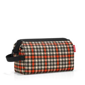 Kosmetická taška Reisenthel Travelcosmetic XL Glencheck Red
