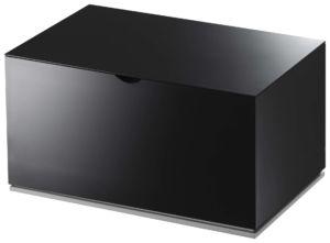 Krabička do koupelny YAMAZAKI Veil 2428 | černá