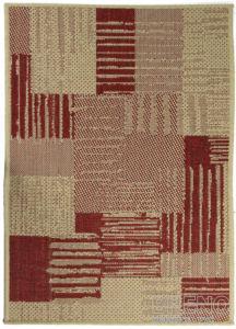 Moderní (buklák) kusový koberec Sisalo Dawn 706044P | červený