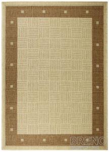 Moderní (buklák) kusový koberec Sisalo Dawn 879J84D | hnědý