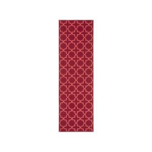 Moderní kusový koberec Basic 102828 | vínový