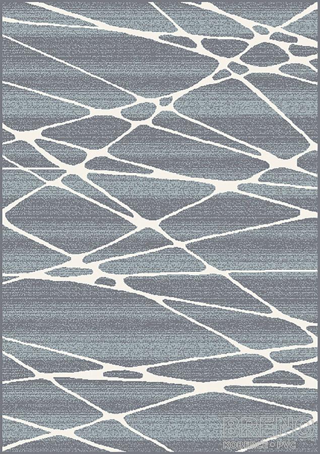 Moderní kusový koberec Boho 01GKG | šedý